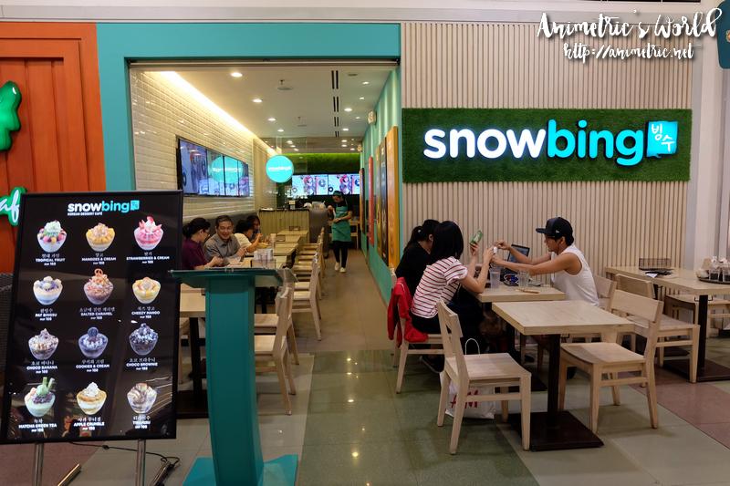 Snowbing SM North Edsa