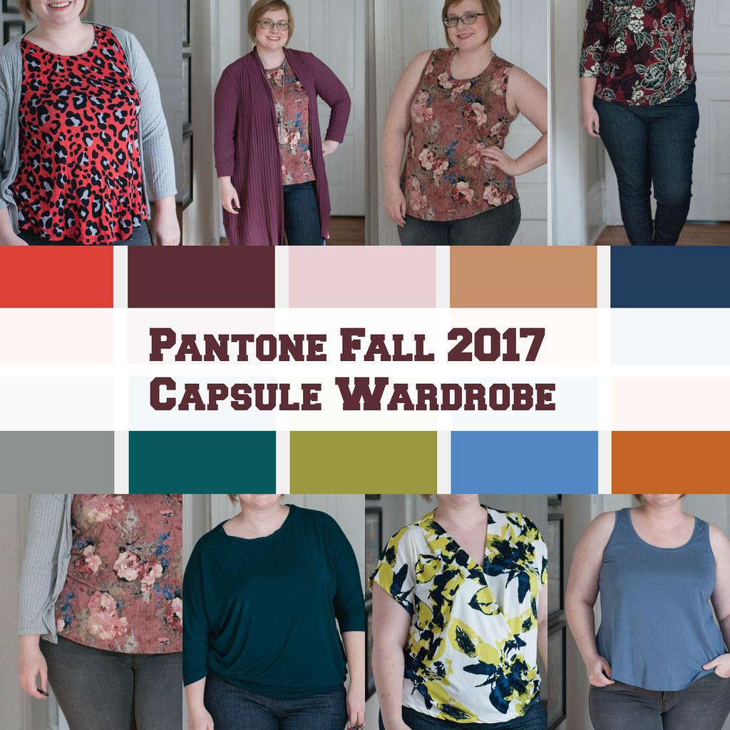 Pantone Fall 2017 Capsule Wardobe