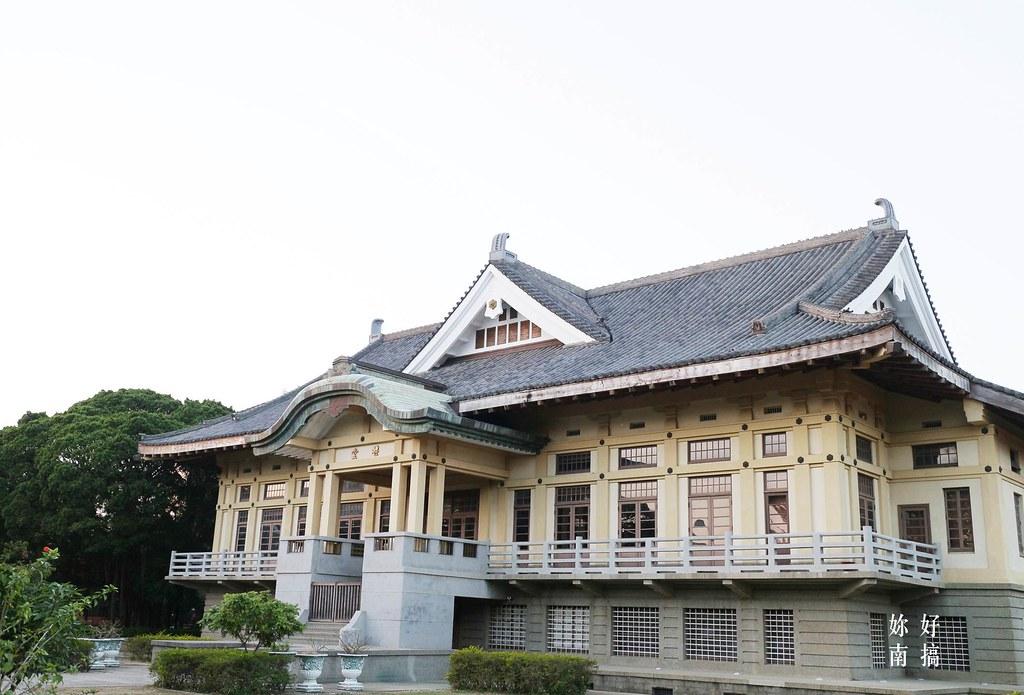 台南古蹟景點-武德殿