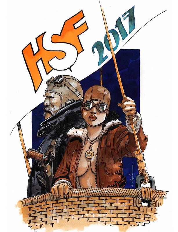 Плакат от Р.М. Гуэры