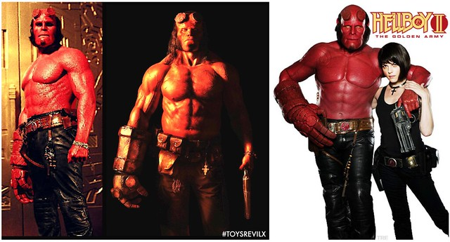 HELLBOY COMPARISONS A