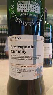 SMWS 5.58 - Contrapuntal harmony
