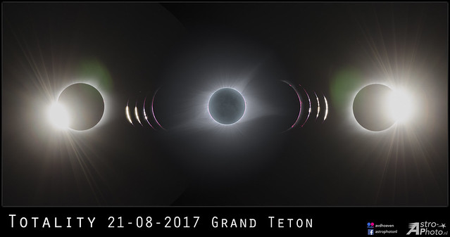 Totality Eclipse 2017 Grand Teton, Nikon D810A, AF-S Nikkor 300mm f/4E PF ED VR