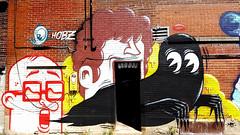 Graffiti Alley Montreal 2017