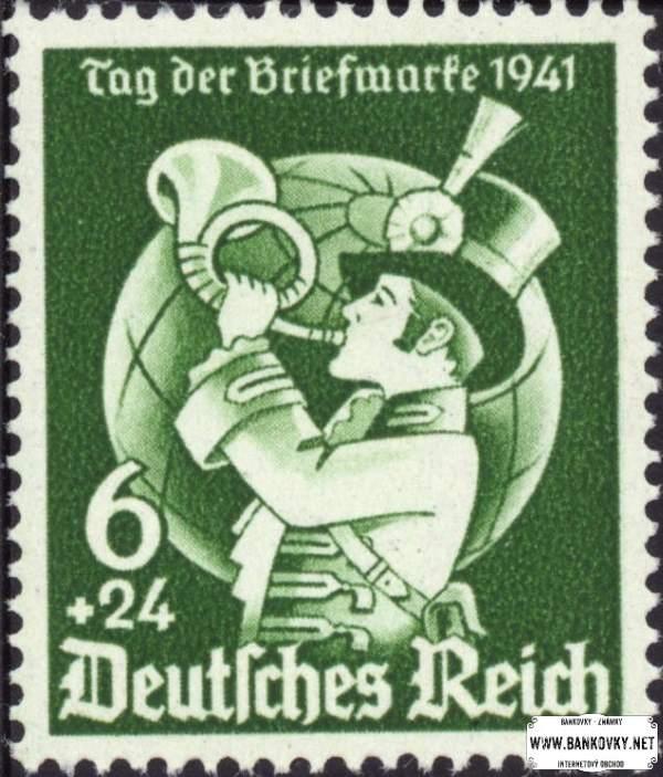 Známka Nemecká ríša 1941 Poštový panáčik, nerazítkovaná