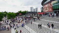 Emirates Stadium on the first day of the season, North London, August 2017