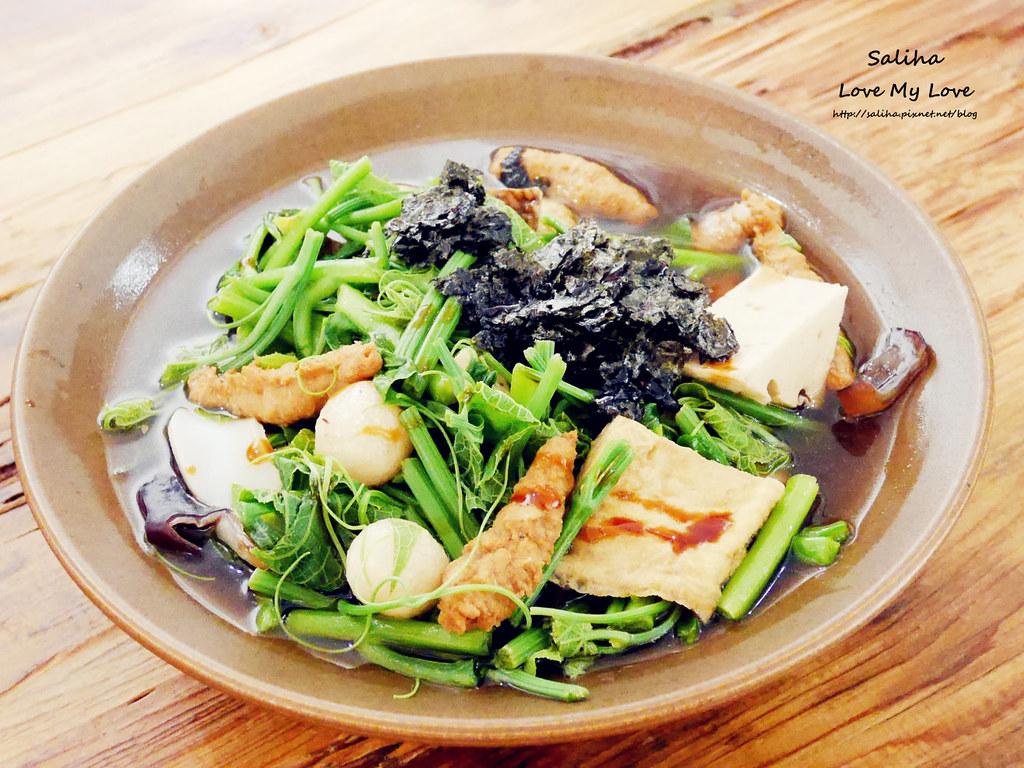 台北東區國父紀念館站附近素食餐廳推薦VEGE CREEK 蔬河 (3)