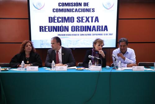 Comisión de Comunicaciones 13/sep/17