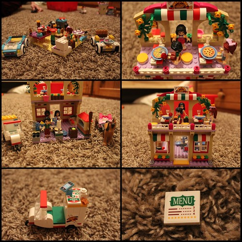 Sister's lego stuff (she took the pictures, too)