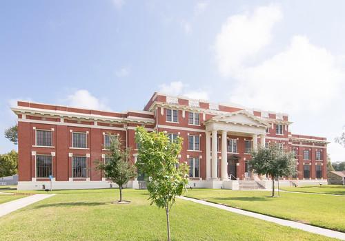 Trinity County Courthouse, Groveton, Texas 1709161022