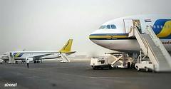 17 September 2017 | Sudan Airways | Airbus A300B4-622R | ST-ATB | In the background Airbus A320-214 | ST-MKW | Khartoum airport | Sudan
