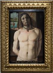 Christ tied to the column | Donato Bramante | Pinacoteca di Brera di Milano-32