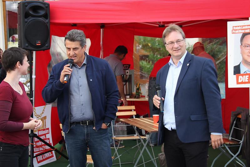 Wahlkampfhöhepunkt in Leipzig, 21.09.2017