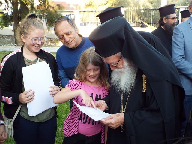 Επίσκεψη του Αρχιεπισκόπου Αλβανίας κ. Αναστάσιου στη Λευκάδα