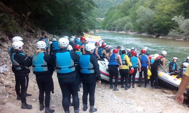 Go to the rafting on Neretva river