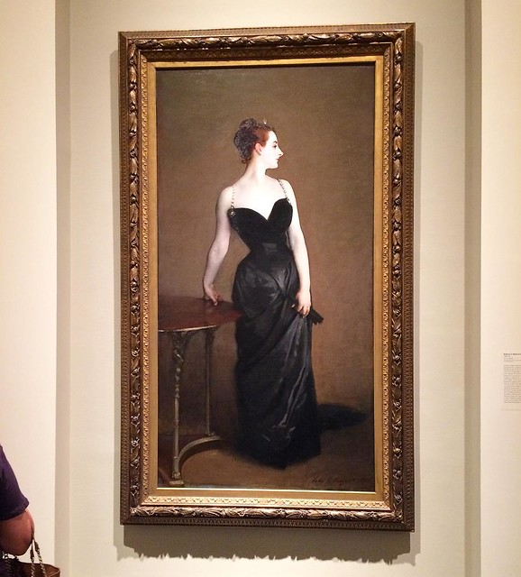 "#tbt: ""Portrait of Madame X"", at the Met, NYC 2015. I took so many pictures on that trip, I have lots of favorites I never posted!"