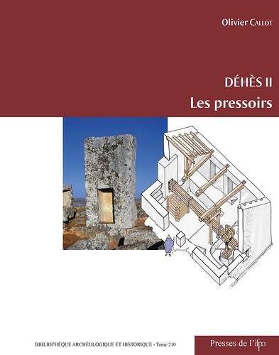 Déhès II : les pressoirs