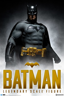 重現漫畫經典形象!!Sideshow Collectibles 傳奇系列【蝙蝠俠】Batman Legendary Scale Figure 1/2 比例全身雕像作品