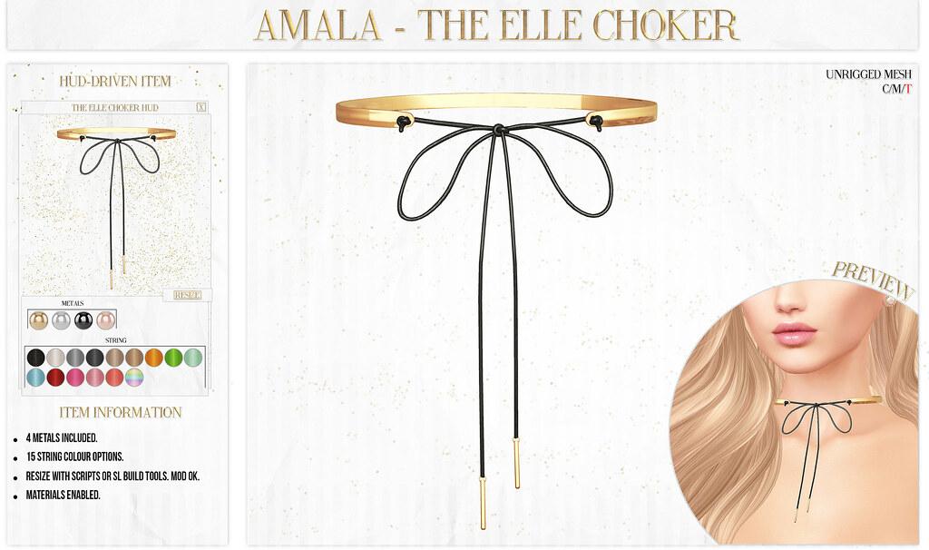 ? Amala - The Elle Choker for C88 Birthday ? - SecondLifeHub.com