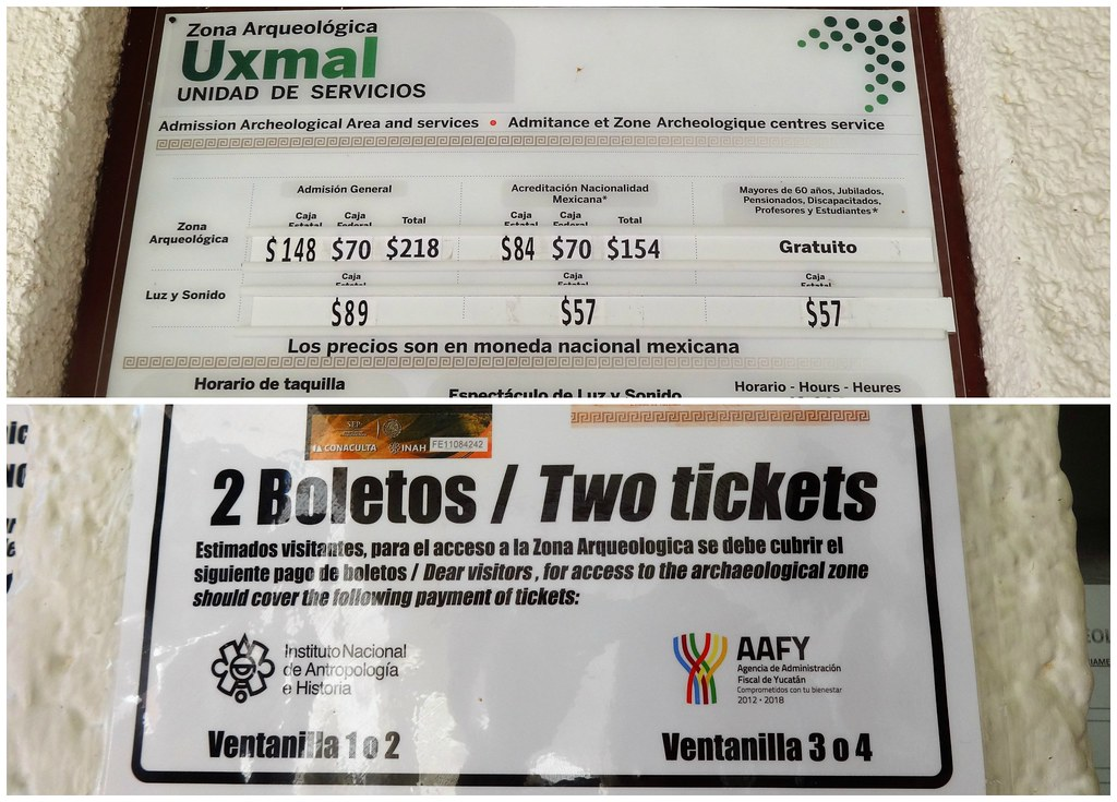 Uxmal tickets