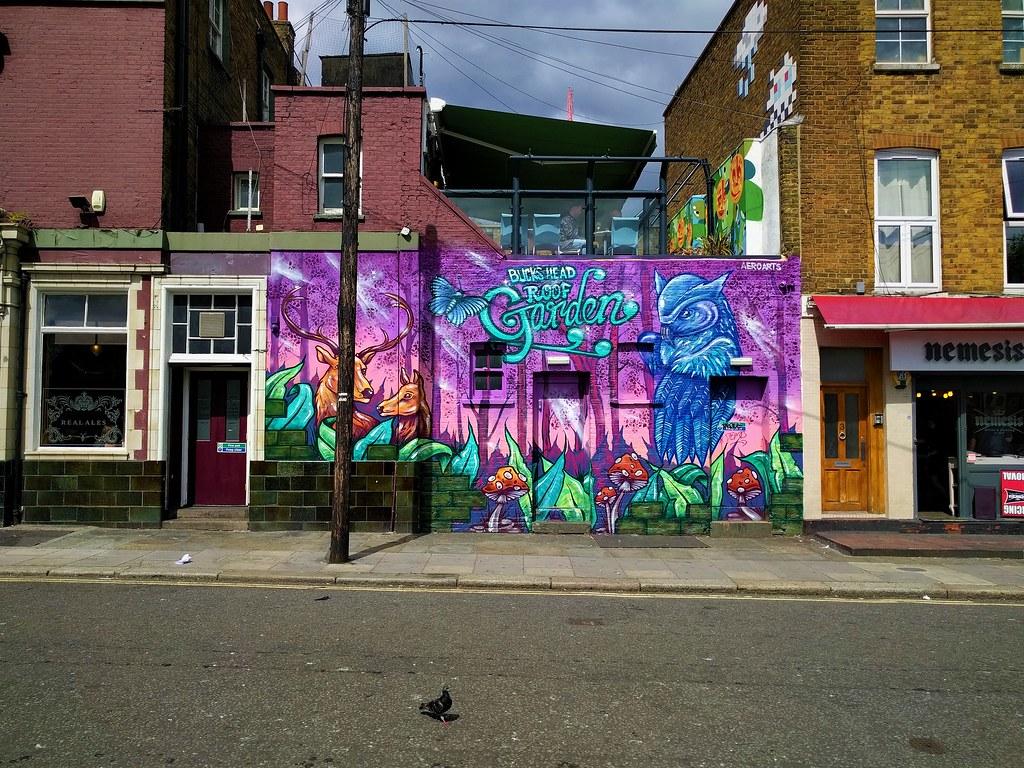 Bucks Head Mural, Camden