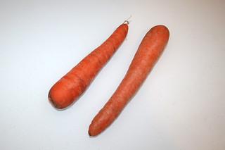 10 - Zutat Möhren / Ingredient carrots