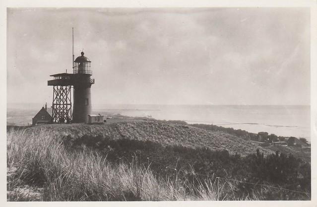 Vlieland - vuurtoren - 1950