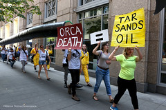 Tar Sands Seattle Protest