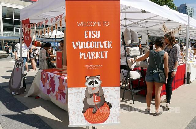 Etsy Vancouver Market entrance