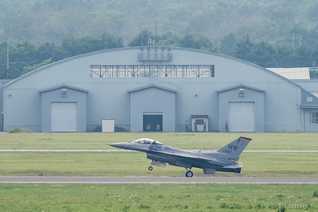 JASDF Chitose AB Airshow 2017 Rehearsal 7.21 (47) PACAF F-16C / 92-887
