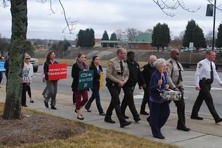 Domestic Violence Walk - March 2015