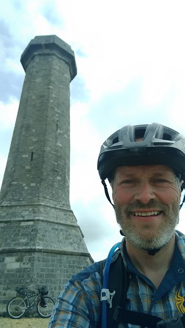 NCN2 Trip - Hardy Monument