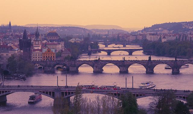 Prag, bridges, Panasonic DMC-FZ18