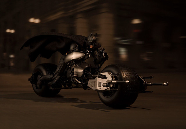 你家的蝙蝠俠有福啦~~S.H.Figuarts 黑暗騎士【蝙蝠機車(黑暗騎士Ver.)】The Dark Knight Batpod バットポッド