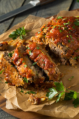 Homemade Savory Spiced Meatloaf
