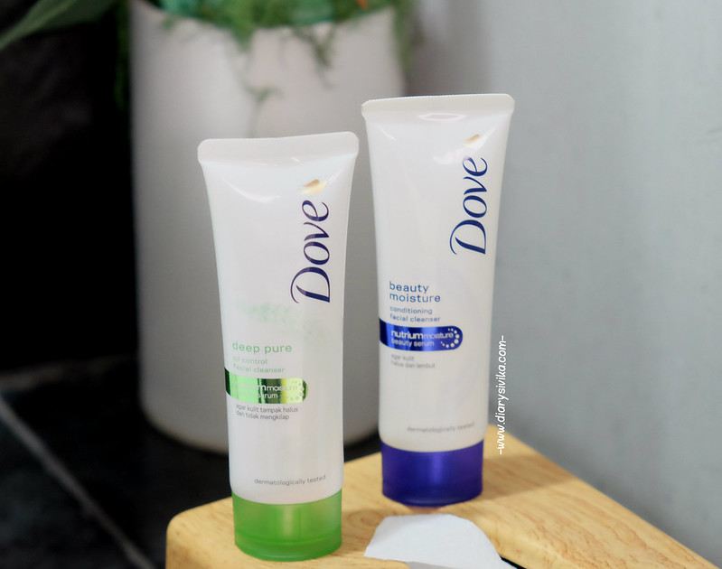 dove facial foam 2