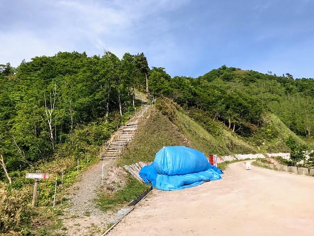 鷲ヶ岳 桑ヶ谷ルート 登山道入口