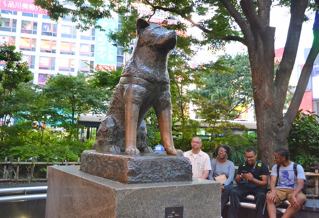 japan itinerary travel guide hachiko monument
