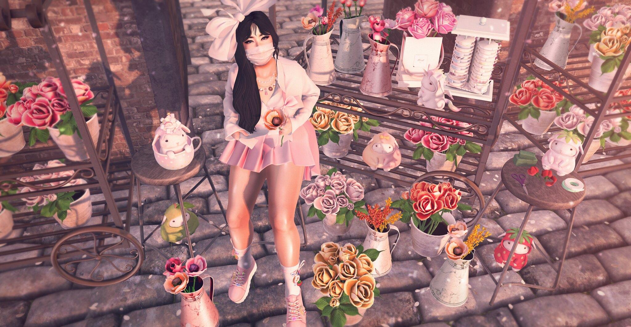 The Flower Merchant.