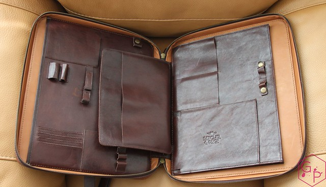 Review @SatchelandPage Port Series - Daily Carry Mobile Office 12