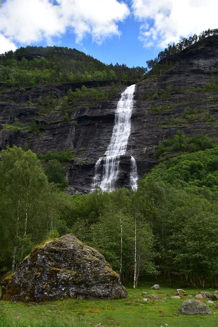 Waterfalls in Norway were, Nikon D5500, AF-S DX Nikkor 18-300mm f/3.5-6.3G ED VR