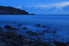 Blue hour and the mist