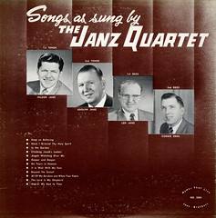 Songs As Sung By The Janz Quartet