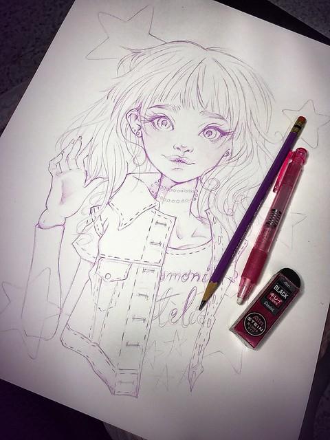 Big Momoni drawing!