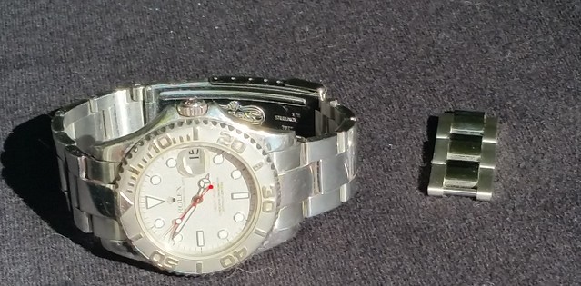 yachtmaster and omega 357