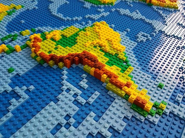 dirks LEGO world map 18 closeup south america