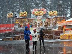 Funfair Snowstorm