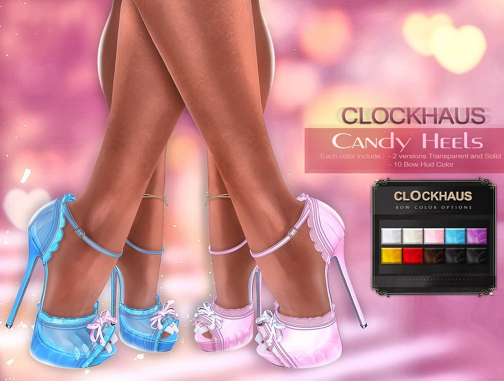 Candy Heels EXCLUSIVE for ANYBody - SecondLifeHub.com