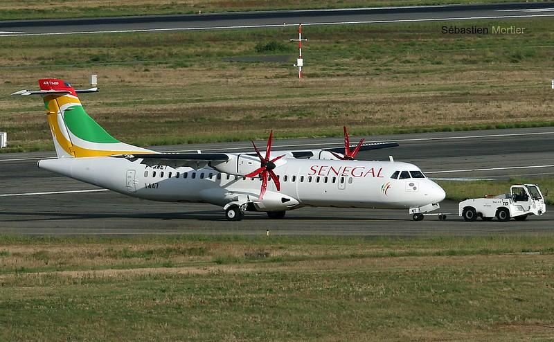 ATR.72-600 AIR SENEGAL F-WWET TO 6V- 12 09 17 TLS