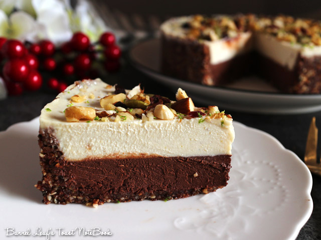 全素雙層黑白巧克力榛果派 vegan-double-chocolate-hazelnut-layered-pie (11)